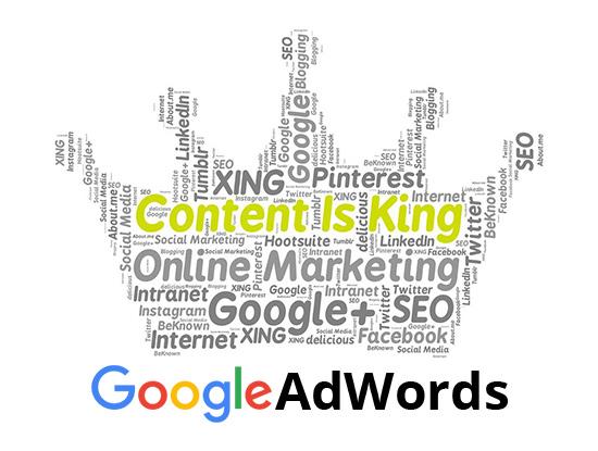 Оплаченная реклама google adwords